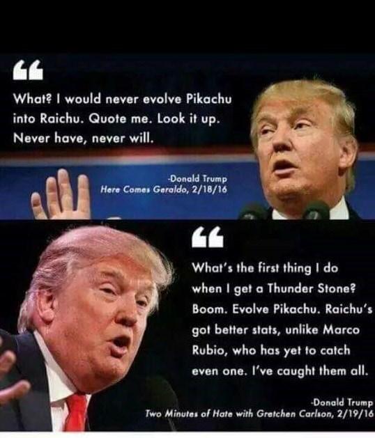 donald trump,pikachu,GOP