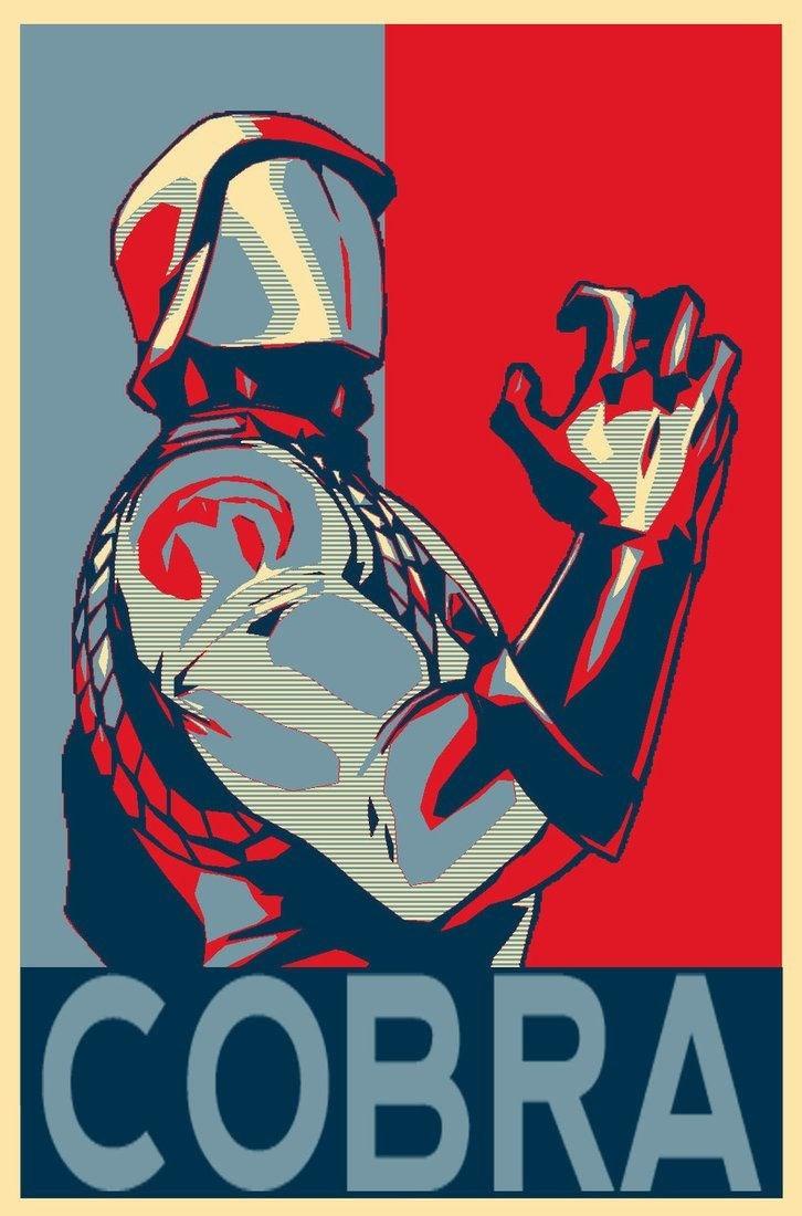 team cobra poster funny politics - 8804712960