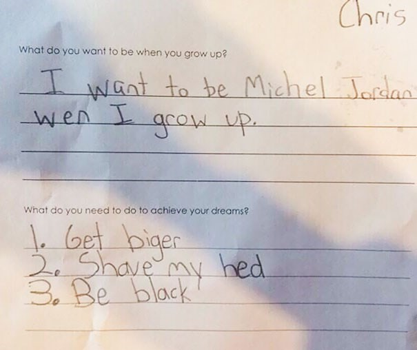 when I grow up michael jordan kids parenting