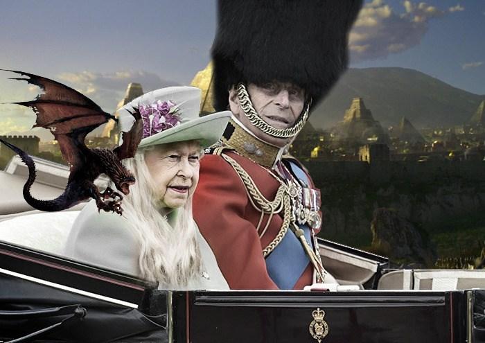 queen elizabeth photoshopped - Screenshot