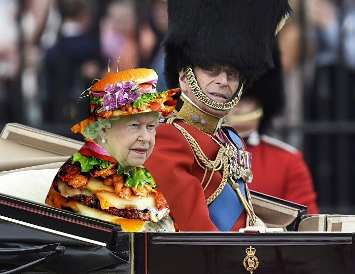 queen elizabeth photoshopped - Event