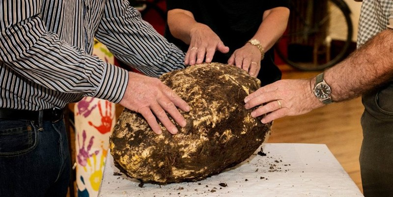 image butter ireland A Giant, Still Edible Chunk of 2,000 Year Old Butter Was Found in a Peat Bog