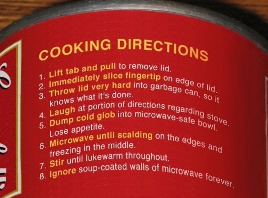 image soup accurate These Are Incredibly Detailed Cooking Directions for Soup