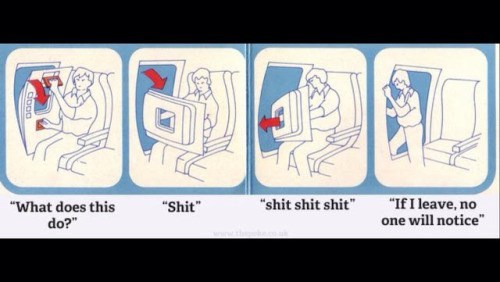 image illustration safety Flight Safety Tips