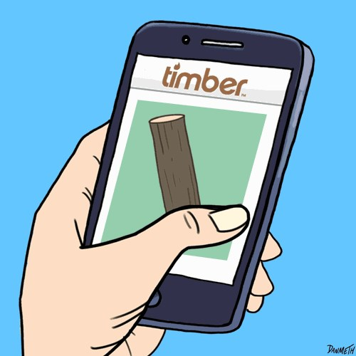 Comics Lumberjacks of the World Can't Get Enough of This New Social Dating App!