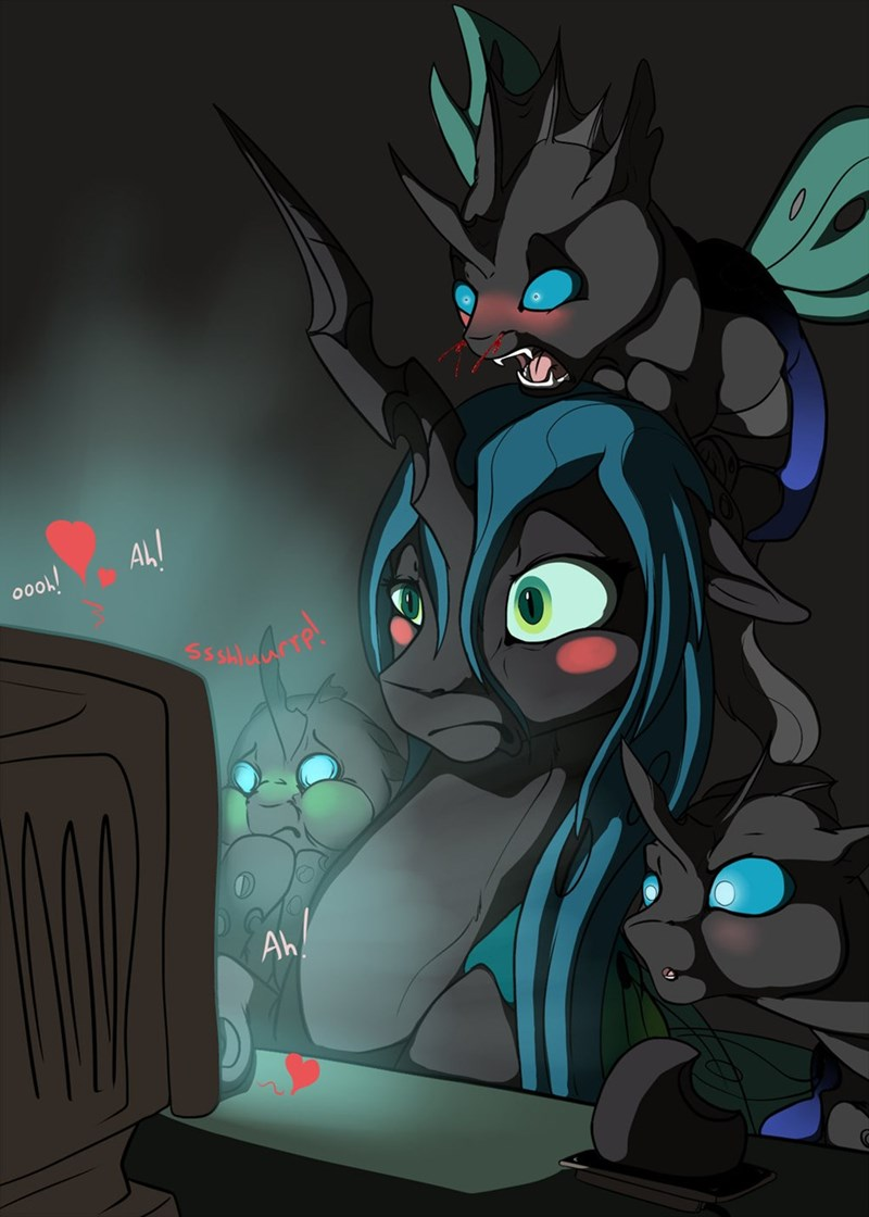 chrysalis that sounds naughty changelings - 8805286400