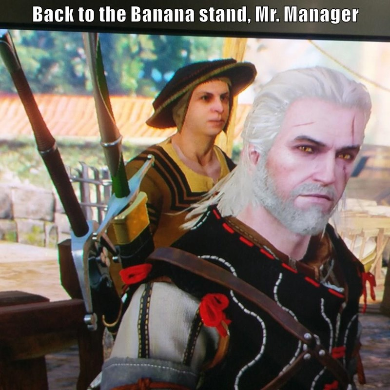 witcher 3,michael cera,video games,funny