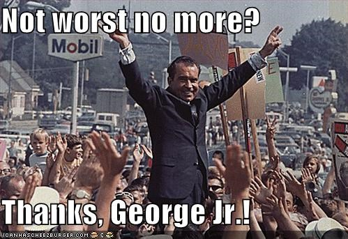 president Republicans Richard Nixon - 880549632