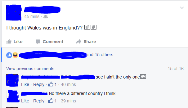 Wales england failbook facebook