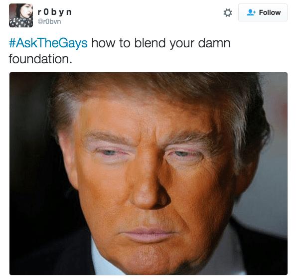 Face - r o b y n Follow @robvn #AskTheGays how to blend your damn foundation