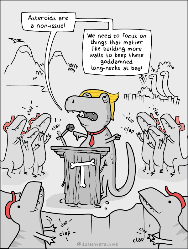 web-comics-political-commentary-prehistoric-donald-trump-rally