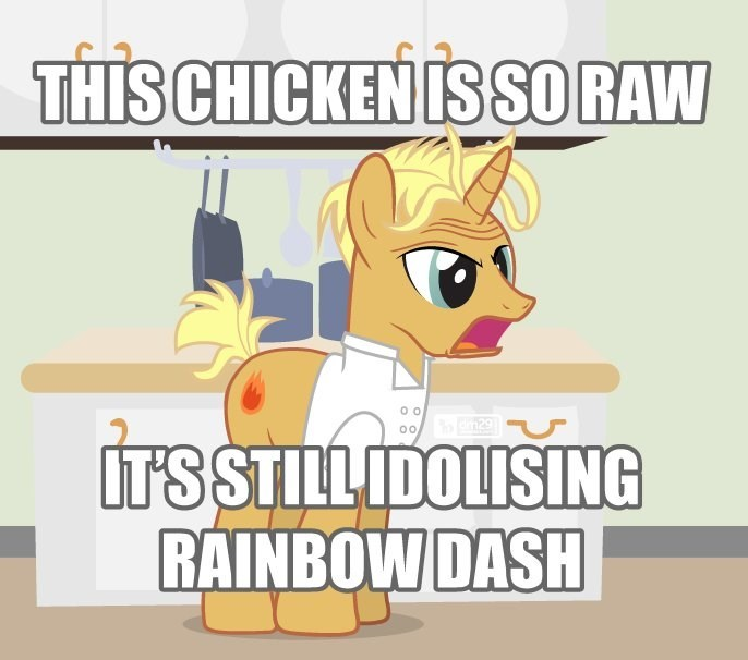 gordon ramsay spice up your life Scootaloo - 8805728256