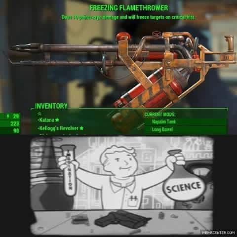fallout fallout 4 video game logic funny - 8805862144