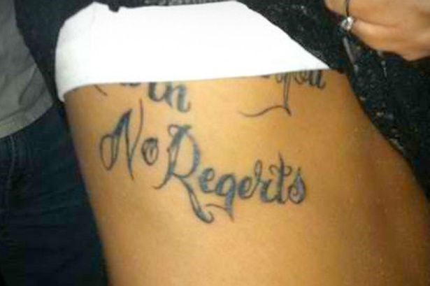 FAIL tattoo spelling classic - 8805902592