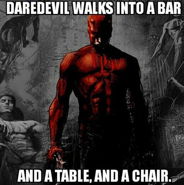 harsh-joke-for-daredevil-walking-into-the-bar-marvel