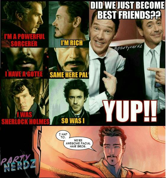 web-comics-superheroes-marvel-doctor-strange-iron-man-best-friends