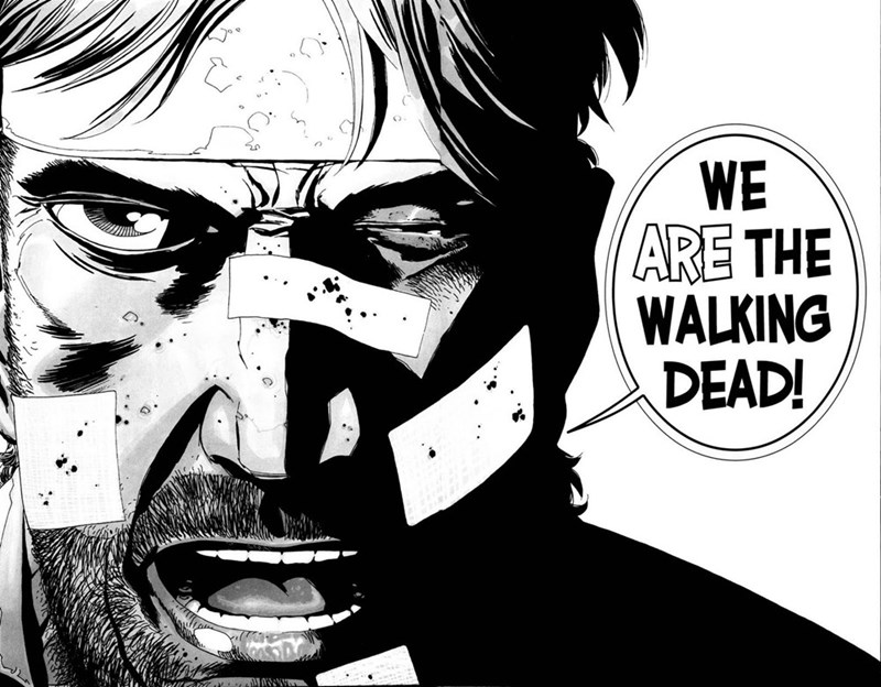 Cartoon - WE ARE THE WALKING DEAD!