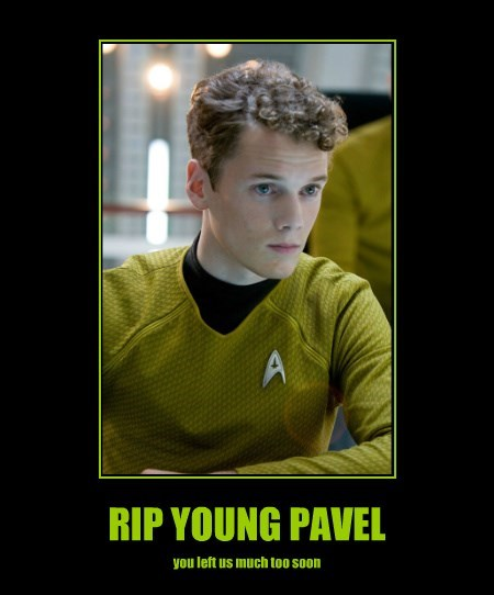RIP YOUNG PAVEL