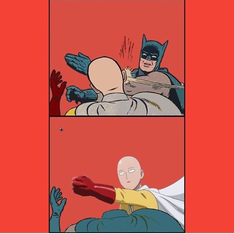Why We'll Never Have a Batman v One-Punch Man