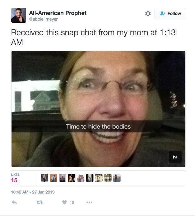snapchat,twitter,moms,parenting,mom