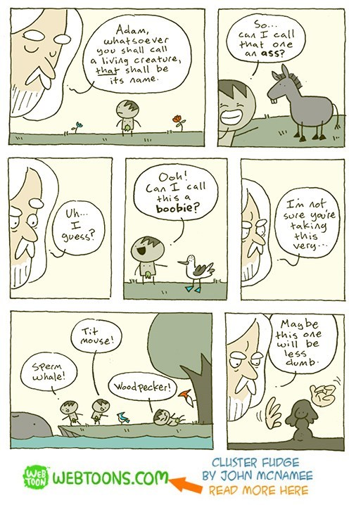 web-comics-god-gives-adam-name-responsibilities-funny-outcome