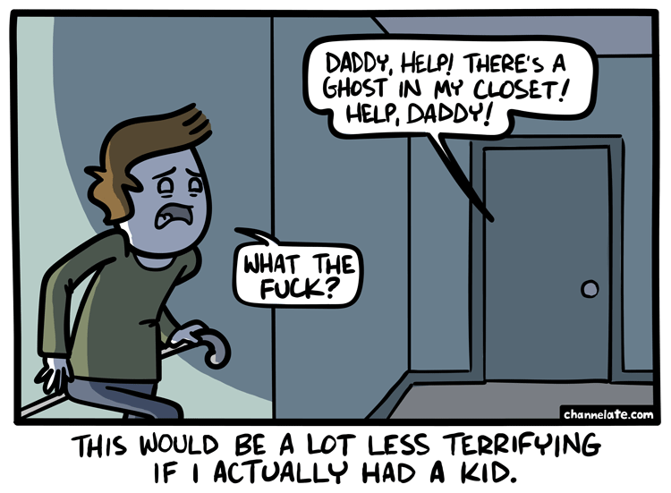 web-comics-daddy-monster-in-the-closet