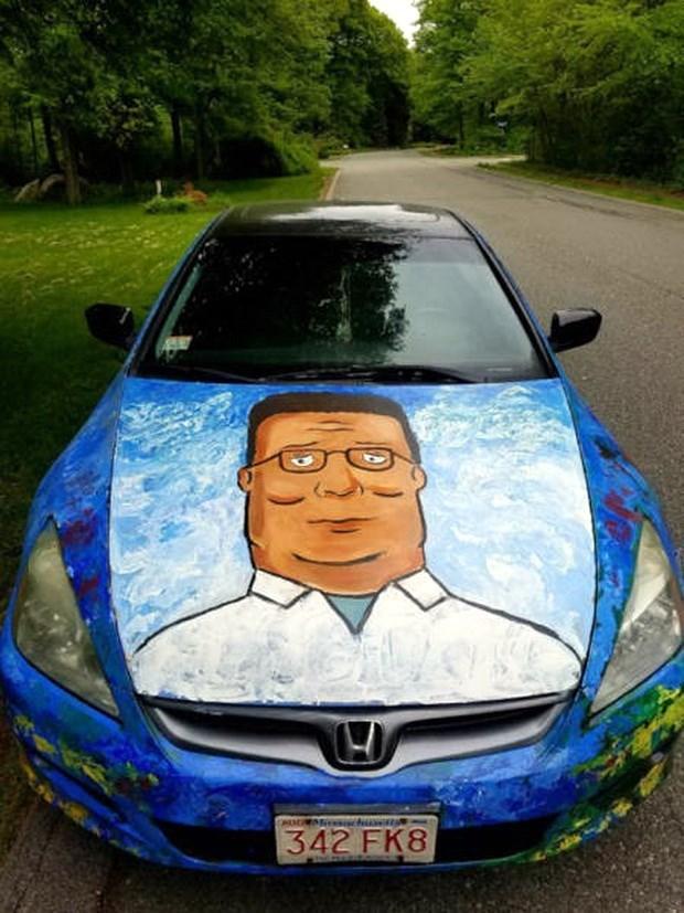hank hill cars cartoons funny - 8807079936