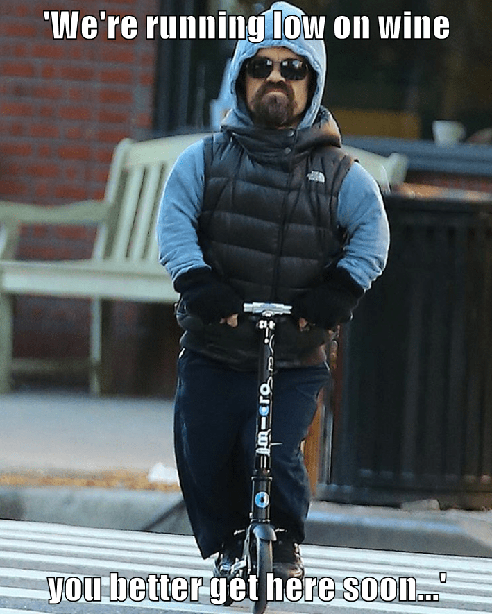 tyrion-lannister-peter-dinklage-riding-a-scooter