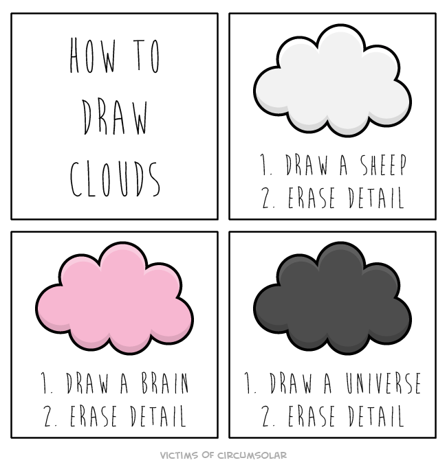 clouds drawing art true web comics - 8807174400