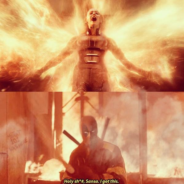 funny-fire-superheroes-x-men-rogue-vs-deadpool