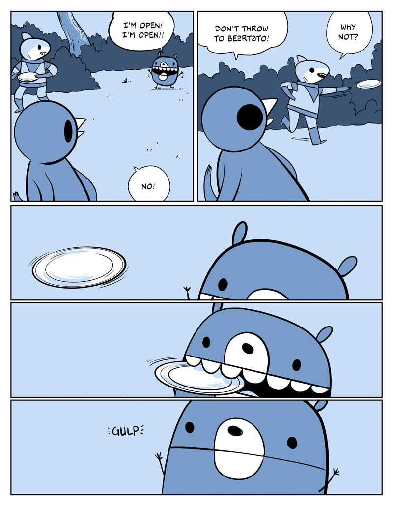 potato frisbee funny web comics - 8807307520