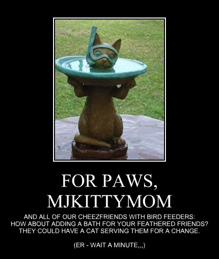 FOR PAWS, MJKITTYMOM