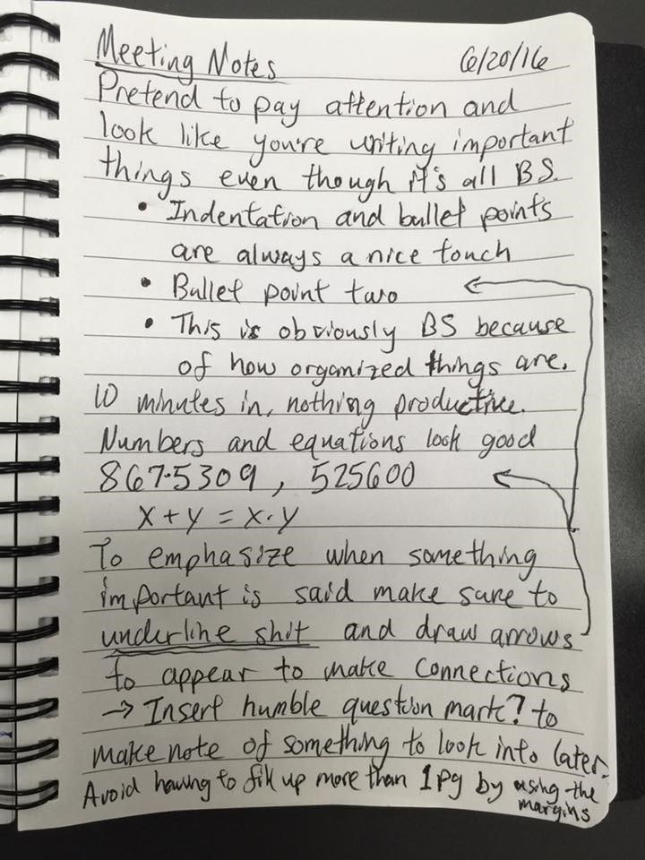 image pranks notes How to Become a Fake Note Taking Master