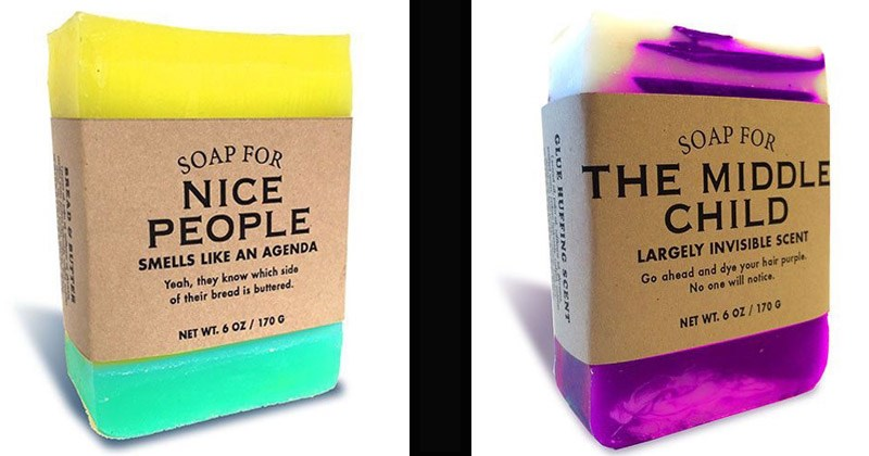 Funny soaps with names that could be used to insult someone