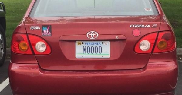 twitter vanity plates list cars - 880901