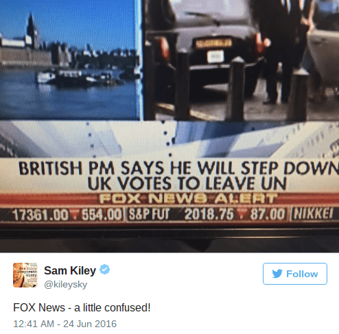 fail fox news brexit According to Fox News, the UK Just Voted Itself out of the United Nations