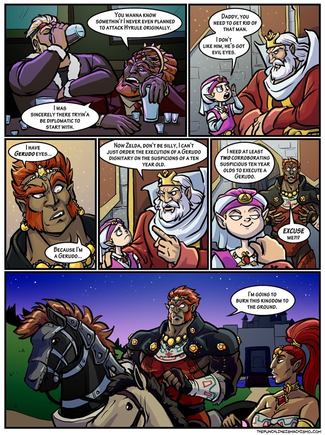 video-games-super-smash-bros-ganondorf-web-comics