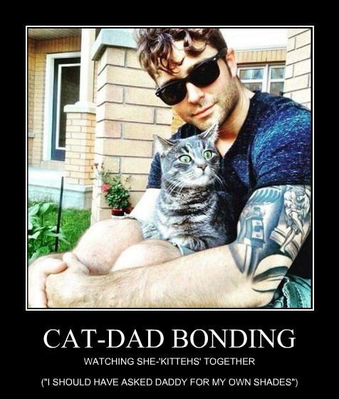 CAT-DAD BONDING
