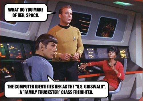 WHAT DO YOU MAKE OF HER, SPOCK.