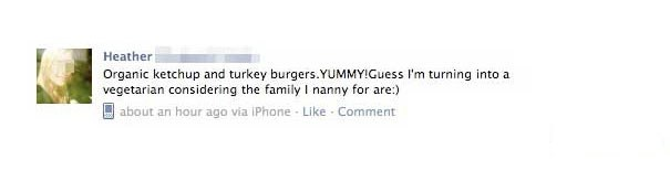 failbook,facebook,vegetarian