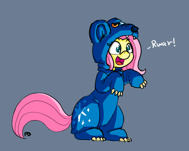ursa minor,fluttershy