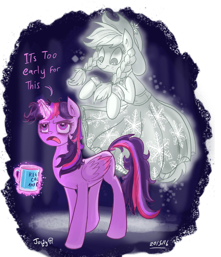 applejack ghost of christmas past twilight sparkle a hearth's warming tail - 8812038912