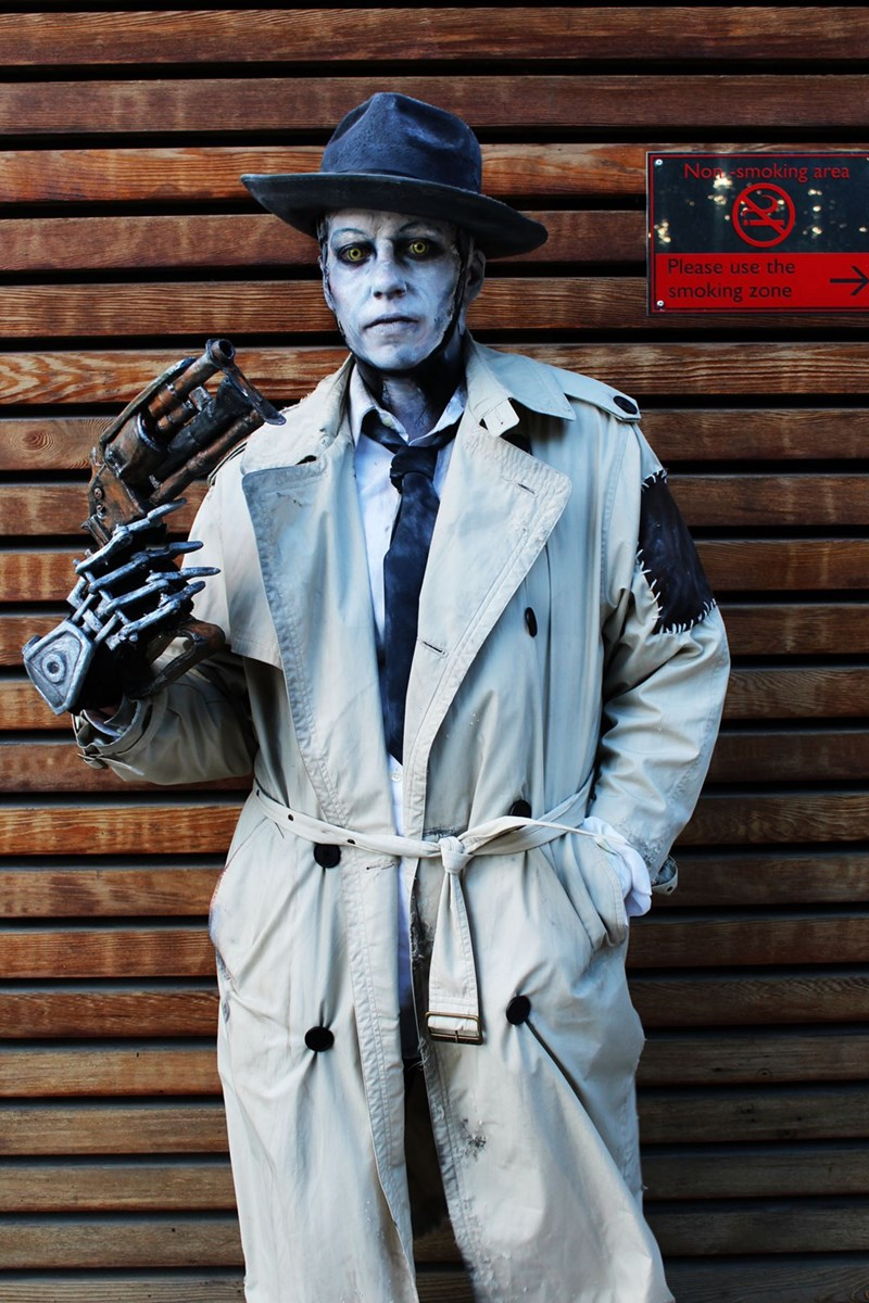 Some Truly Arresting Nick Valentine Cosplay from Fallout 4
