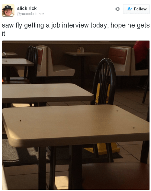 twitter fly job interview