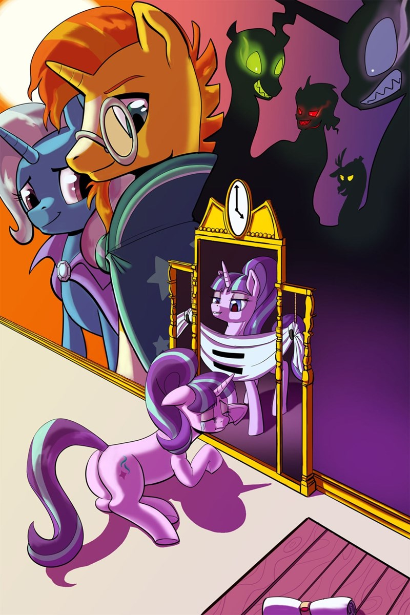 sombra the great and powerful trixie nightmare moon sunburst discord starlight glimmer chrysalis - 8812341248