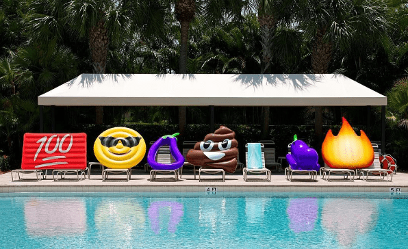 image emoji summer Ridiculous, Giant Emoji Pool Floats Are What Everyone Needs for This Summer