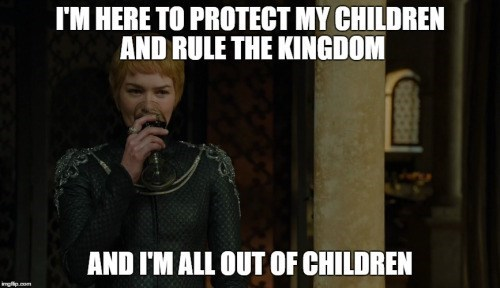 cersei means business