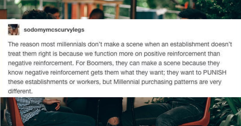 brand loyalty tumblr millennials generations baby boomers - 8812549