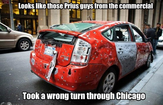 Looks like those Prius guys from the commercial