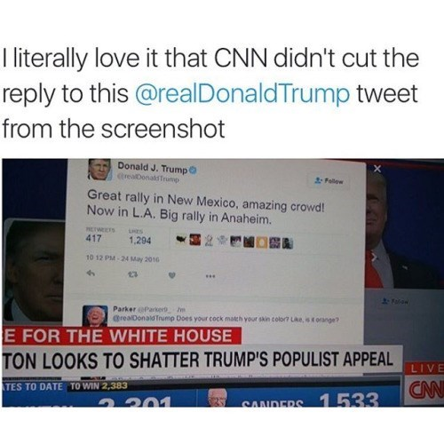 twitter FAIL cnn donald trump - 8812572416